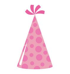 happy birthday and celebration hat design vector image