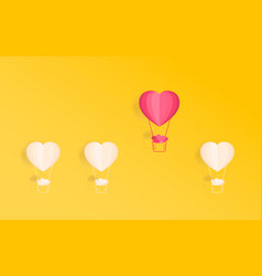 happy valentines day concept of love outstanding vector image