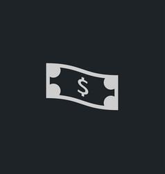 Money icon simple vector
