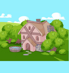 Old english style house vector