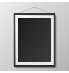 Picture frame and shadow vector