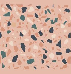 terrazzo pattern vector image