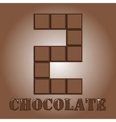 The number of bars chocolate two vector