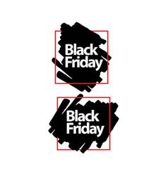 Black friday template design vector