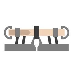 Climbing equipment vector image