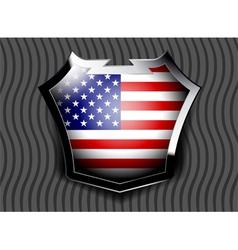 Flag of USA vector image