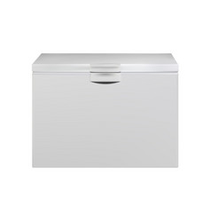 freezer - mock up template isolated on white vector image