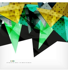 Futuristic shapes abstract background vector image