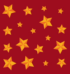 golden stars awards decoration background vector image