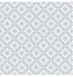 Gray blue damask decorative pattern backdrop vector