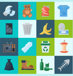 Household and waste vector