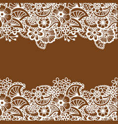 mehndi horizontal backrtound vector image