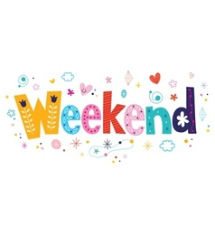 Weekend vector