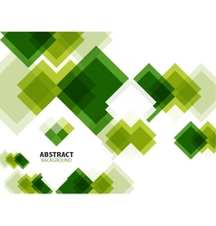 Green modern geometrical abstract background vector image