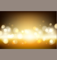 abstract brown background with blur golden vector image
