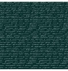 Seamless Handwriting Text vector image vector image