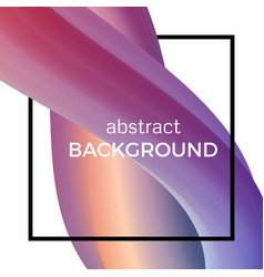 abstract composition of the watercolor wave vector image