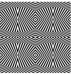 abstract geometric pattern monochrome background vector image