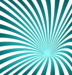 Cyan striped funnel design background vector