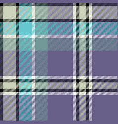 Gray blue check fabric texture seamless pattern vector
