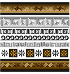 Greece ornament vector image