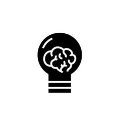 New ides black icon concept vector