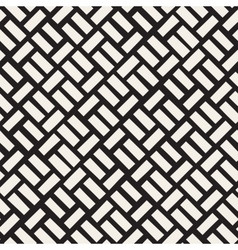 Seamless Black And White Diagonal vector
