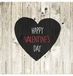 valentines day lighten wooden texture vector image
