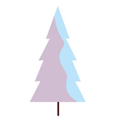 white pine design vector image