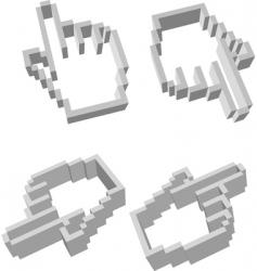 hand cursor vector image
