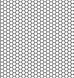 honeycomb seamless pattern vector image vector image