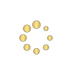 buffering computer symbol vector image vector image