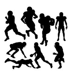 footballplayers vector image