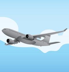 Commercial Aircraft 6 vector