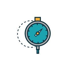 Curvimeter work tools engineering icon vector