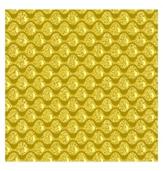 Golden squama vector image