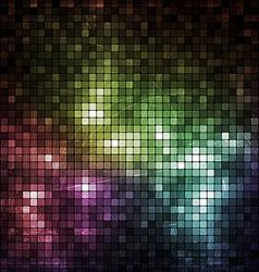 Grunge Mosaic Banner vector image