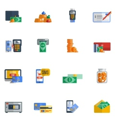 Payment Icon Flat vector