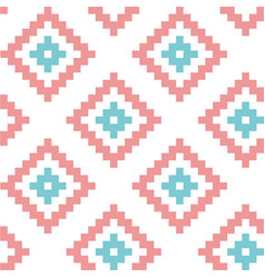 simple seamless scandinavian trend pattern vector image