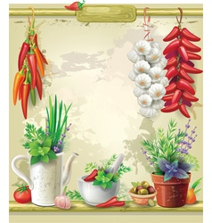Country Still life vector image