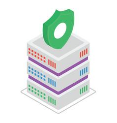 Data server security vector