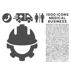 Development Icon with 1000 Medical Business vector