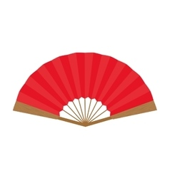 Females fan icon Japan culture graphic vector