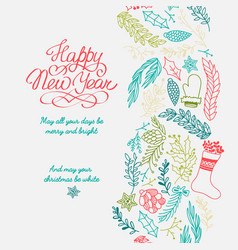 happy new year design concept vector image