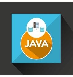 Java language data base storage vector
