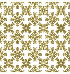 Khaki damask seamless pattern background vector