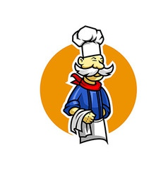 musthace chef vector image