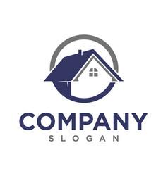 realty logo vector image