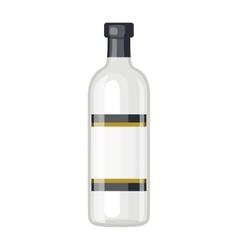Vodka bottle vector