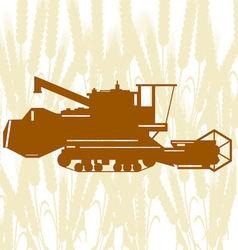 Combine harvester 2 vector